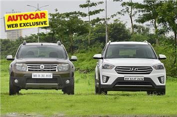 Hyundai's new Creta has its work cut out in the popular SUV segment. It takes on the favourite Renault Duster.