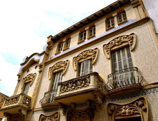 Casa pere carreras 1906 arquitecto josep pujol brull - Arquitecto sitges ...