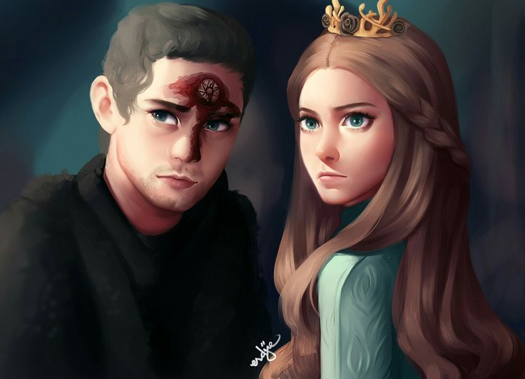 Loras & Margaery Tyrell; moments before their death.