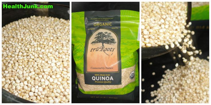 Buying Healthy at Costco 4lbs of Organic truRoots Quinoa