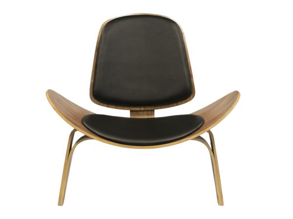 Meubles Newell_Newell Furniture_Montreal_Shell Chair Black Canada I Newell Furniture