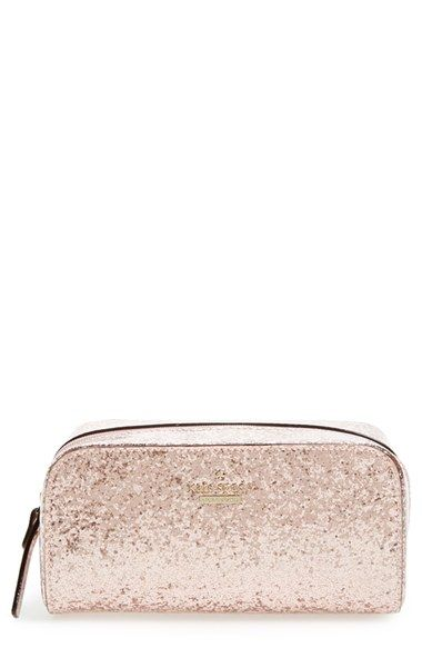 kate spade new york 'glitter bug - ezra' cosmetics case available at #Nordstrom