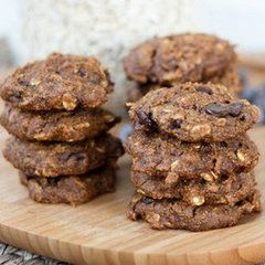 Healthy Oatmeal Peanut Butter Coconut Cookies