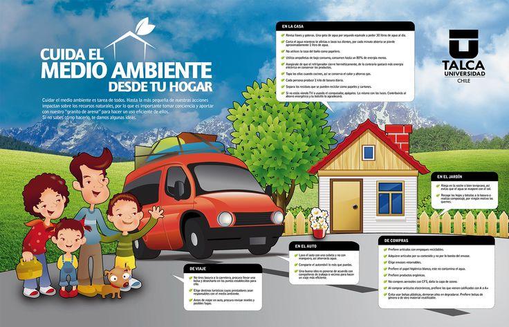 Cuida el medio ambiente desde tu hogar