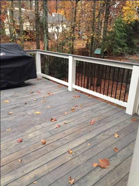 Cabot semi solid stain dark slate outside pinterest slate decking and cabin exterior colors for Cabot s exterior stain colours