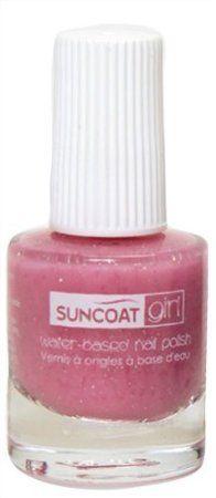 Suncoat Girl, Water-Based Nail Polish, Fairy Glitter 0.27 oz (8 ml): Amazon.co.uk: Beauty
