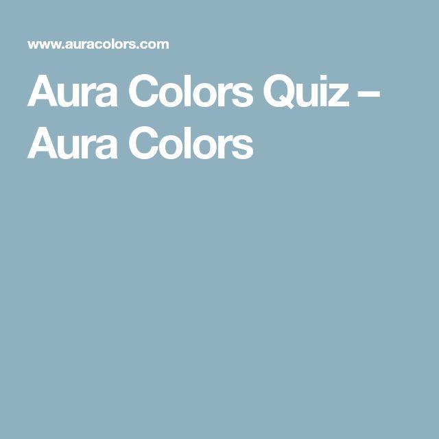 Aura Colors Quiz – Aura Colors