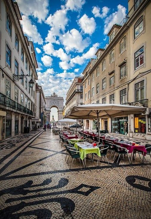 Rua Augusta, Lisboa - Portugal