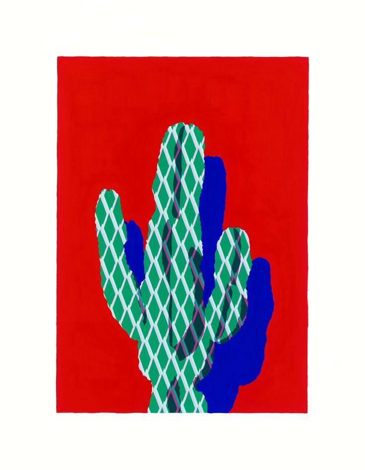Red Cactus - Laura Walker | www.laurawalker.co.nz
