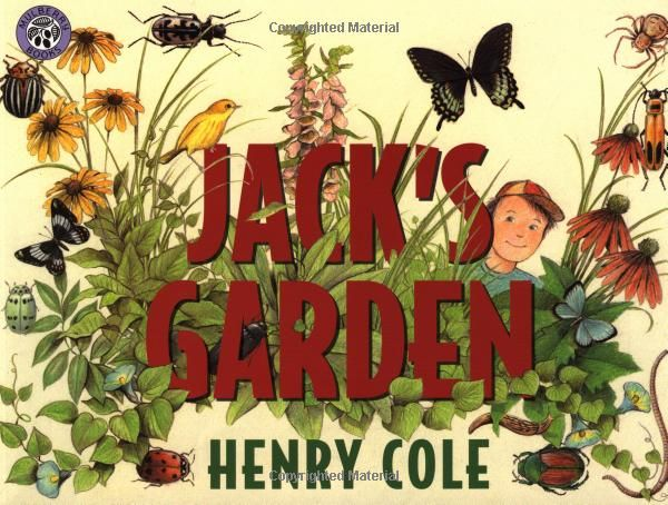 May have to check this out - Jack's Garden by Henry Cole