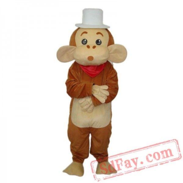 Cap Monkey Mascot Adult Costume Adult Costumes Mascot Costumes