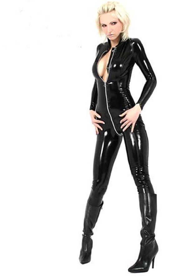 S-2xl большой Большой размер женщина кошка сексуальный костюм эротическое белье женщина кошка сексуальный костюм пвх комбинезон