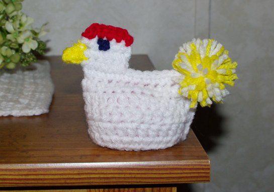 Chicken Egg Cozy Crochet Pattern