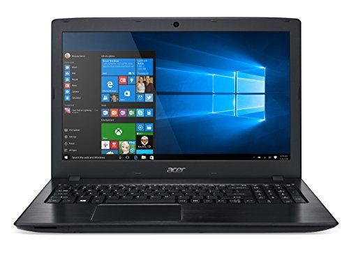 Discounted Acer Aspire E 15 E5-575-33BM 15.6-Inch FHD Notebook (Intel Core i3-7100U 7th Generation , 4GB DDR4, 1TB 5400RPM HD, Intel HD Graphics 620, Windows 10 Home), Obsidian Black
