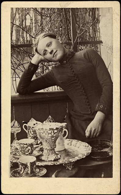 Portrett av Bokken Lasson, ca 1889 by National Library of Norway, via Flickr