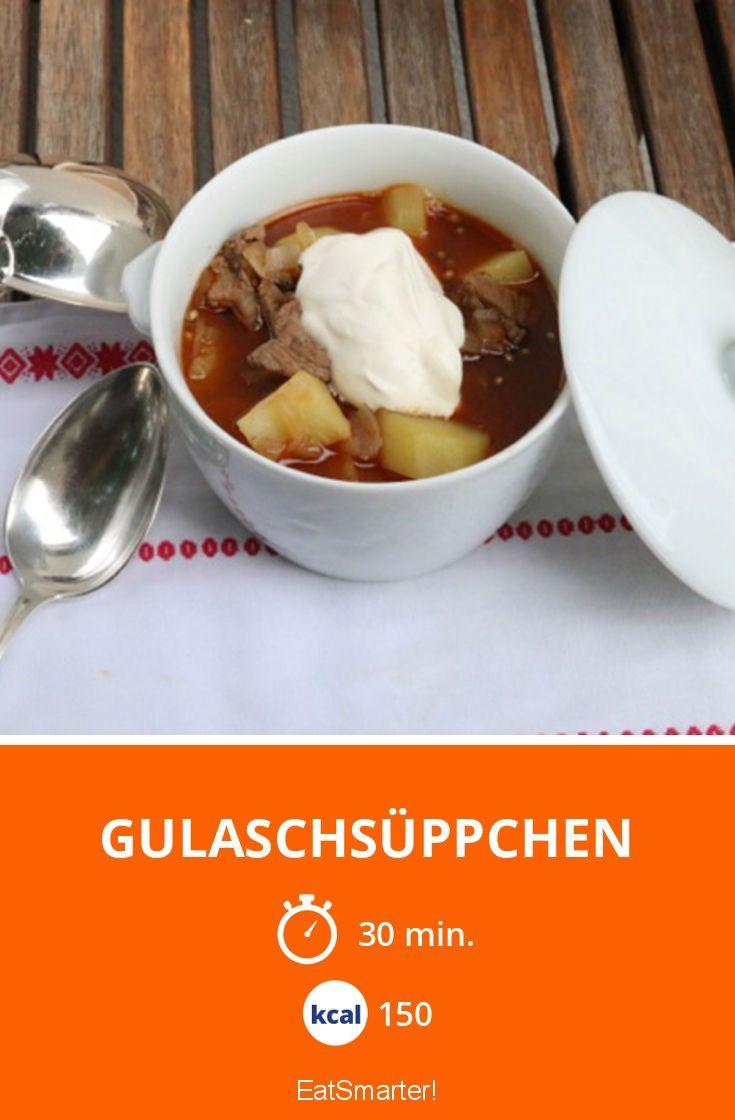 Gulaschsüppchen - smarter - Kalorien: 150 Kcal - Zeit: 30 Min. | eatsmarter.de
