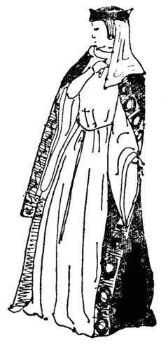 Костюм романского периода рисунки в эпоху средневековья