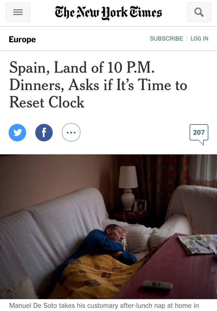 Horarios de trabajo #MarcaEspaña