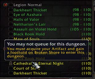 """I wonder how many players are at level 110 have """"gained a foothold"""" on Broken Shore but didn't acquire their Artifact yet... #worldofwarcraft #blizzard #Hearthstone #wow #Warcraft #BlizzardCS #gaming"""