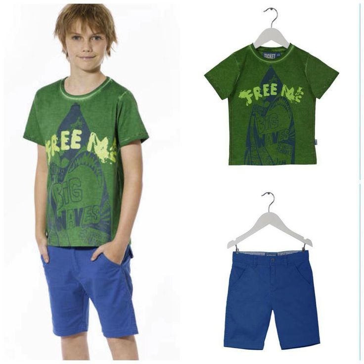 Summer outfit for the boys:  T-shirt: Pehr Blue shorts: New Castle  You can find the outfit on our webshop here:  http://www.ticket2heaven.com/children%27s-clothing/products/sets/set-for-boys-with-t-shirt-and-cool-shorts/141_saet_tshirt_shorts_dreng2.html#http%3A%2F%2Fwww.ticket2heaven.com%2Fsearch=undefined&start=10&q=sets&sz=12