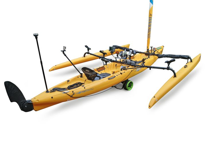 Accessories & mounts for Hobie Tandem Island kayak with RAILBLAZA (+playlist...)