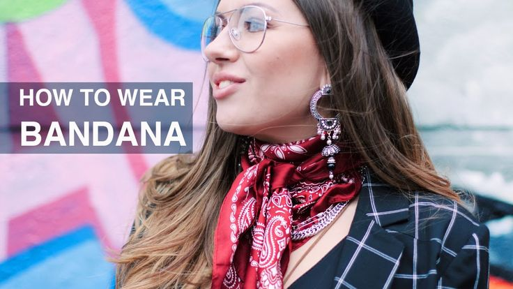 How to Wear Bandana on Neck - Bandana Outfit Idea - 2017 Spring Outfits ...