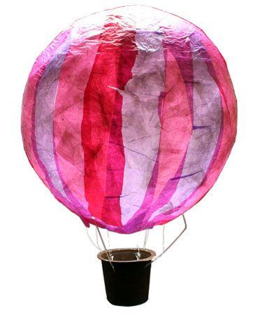 Hot air balloon lantern Heißluftballon-Laterne