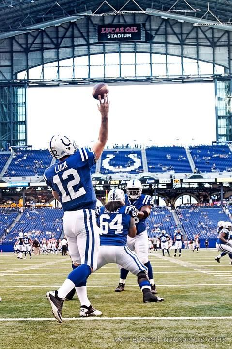 Andrew Luck historical shot