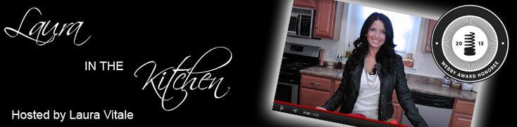 Sweet and Salty Spaghetti Recipe - Laura in the Kitchen - Internet Cooking Show Starring Laura Vitale