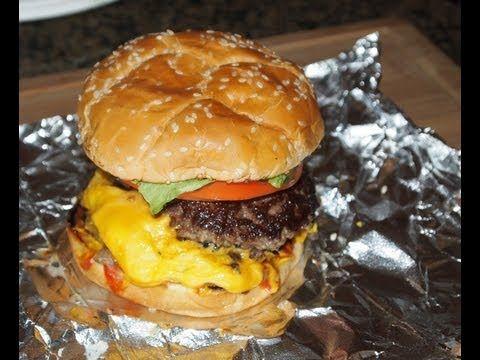 Five Guys Burger Recipe! - YouTube