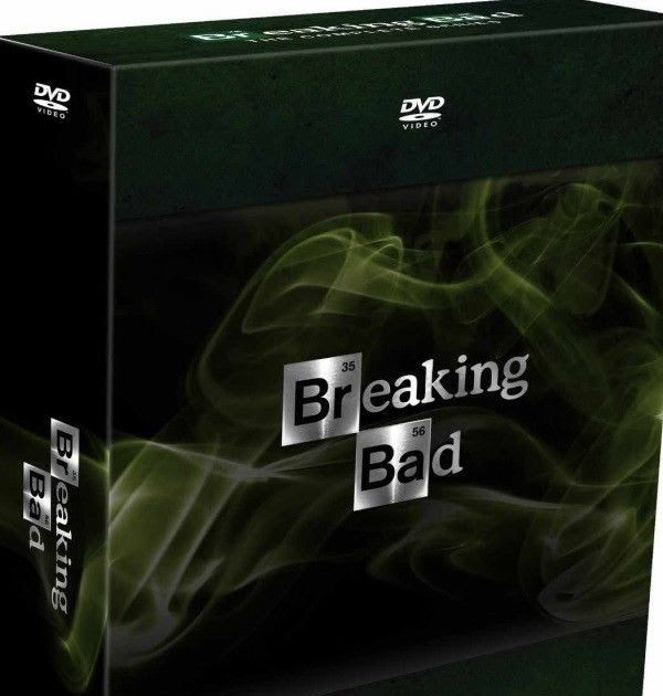 Breaking Bad The Complete Series Season 1-6 (DVD 2014 21-Disc) 1 2 3 4 5 6
