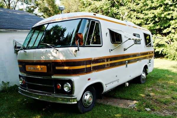 38 Best Images About Dodge Travco Vintage Motor Home