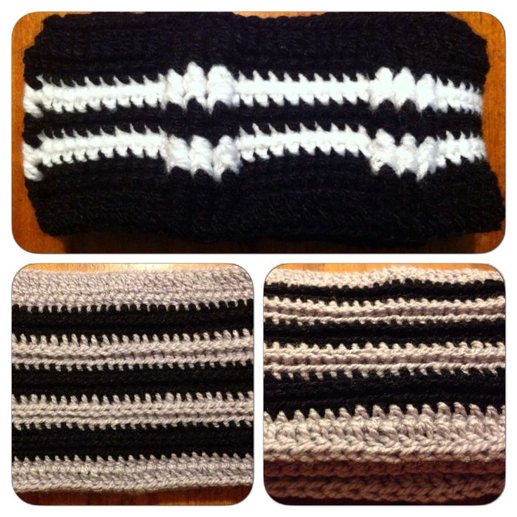 Crochet: Cuellos para hombres / Crochet: Cowls for men