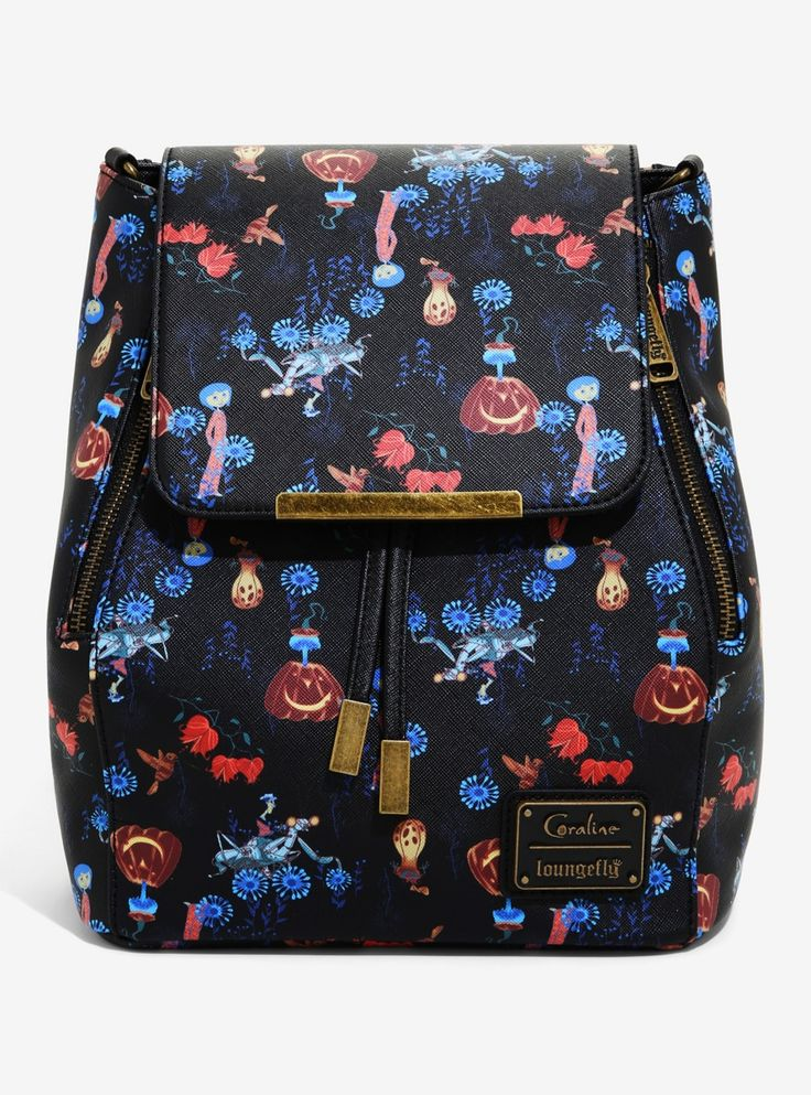 Loungefly coraline convertible mini backpack boxlunch