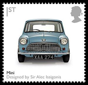 British design stamps: Mini