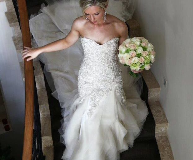 Stunning Used Oglia Loro Couture wedding dress for sale on the new Find me a wedding dress APP!