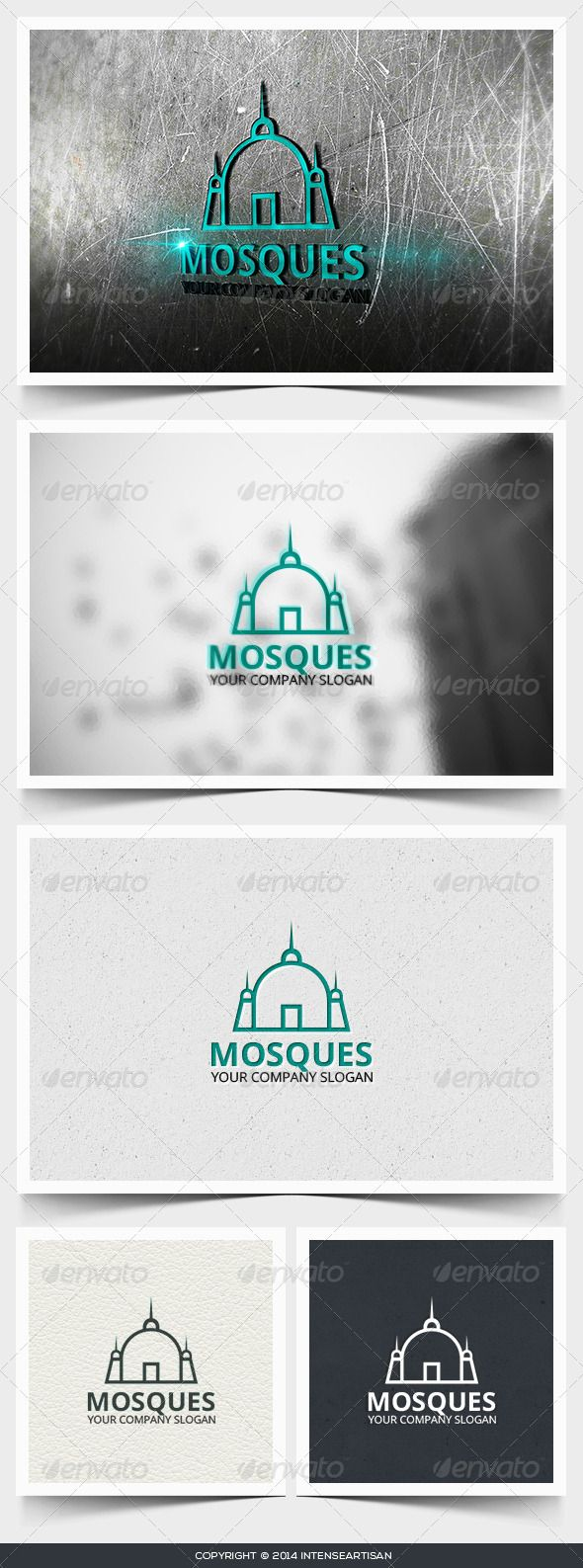 Mosques Logo Design Template Vector #logotype Download it here: http://graphicriver.net/item/mosques-logo-template/6642975?s_rank=1314?ref=nexion