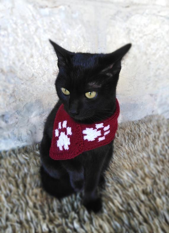 5b47027a898 Cat Scarf