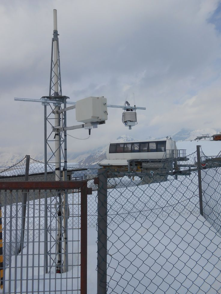 Snow height monitoring