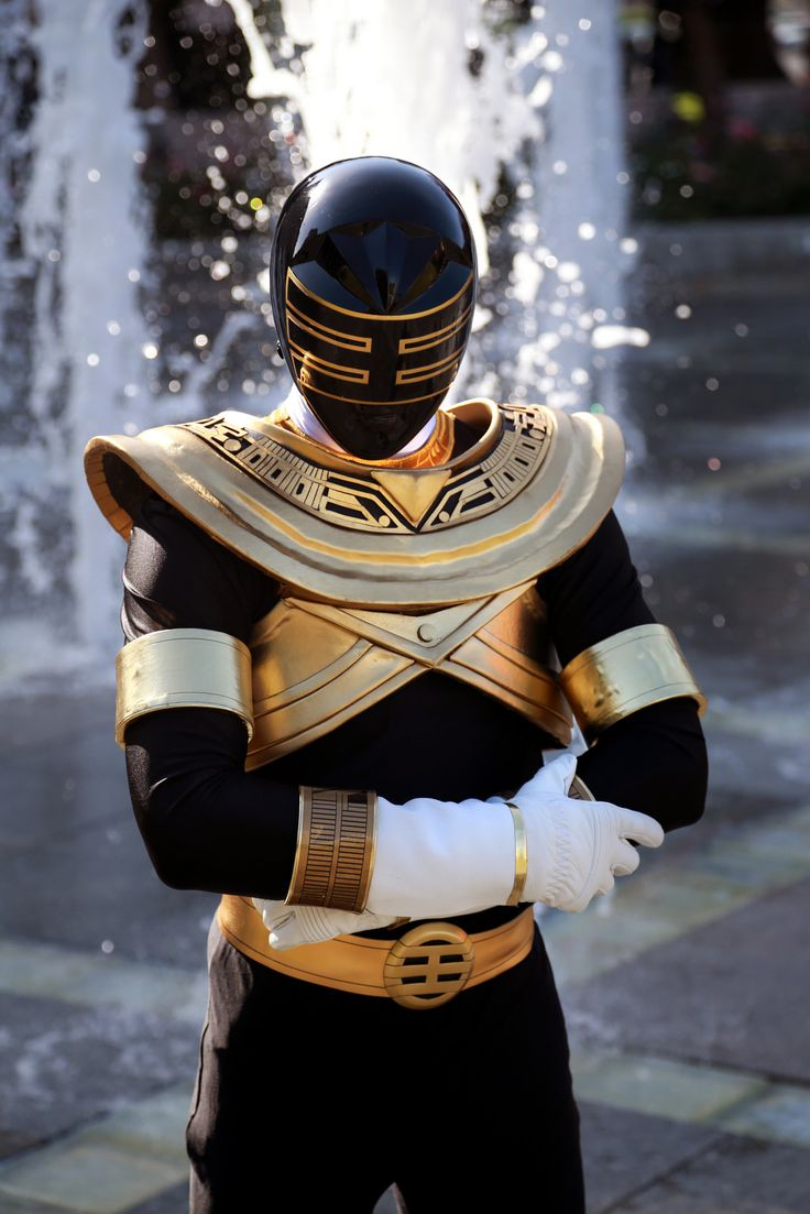 Gold Ranger - Power Rangers Zeo cosplay