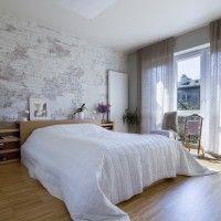 Galleria foto - Parete in mattone in camera da letto Foto 12