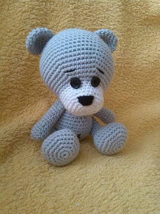 Šedý medvídek