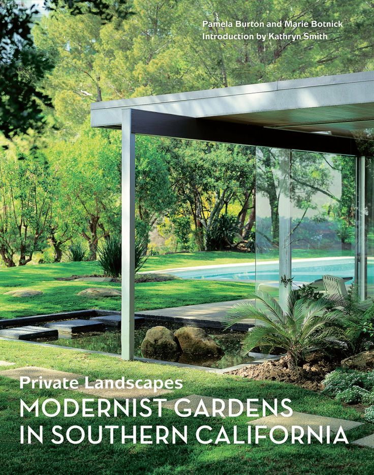The first and only book to focus on the modernist gardens of Southern California is now available in paperback. In Private Landscapes, landscape architect Pamela Burton and interior designer Marie Botnick profile twenty significant gardens--and their accompanying houses--by the most celebrated architects of mid century modernism, including Richard Neutra, Rudolph Schindler, A. Quincy Jones, and John Lautner.