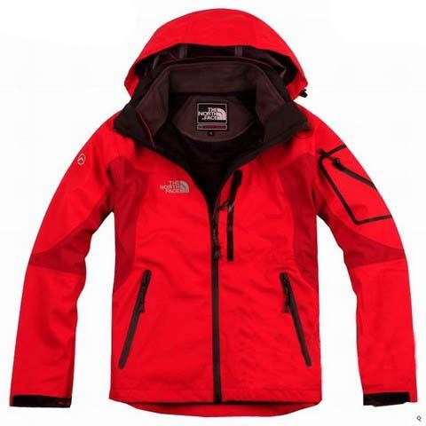 Womens The North Face Triclimate 3 In 1 Jacket All Red