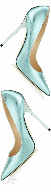 Light turquois | light greenish blue | light aqua | high heels