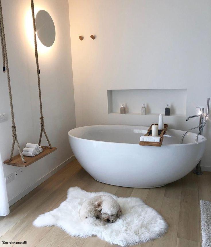 Oasi di pace 💙 Il bagno è un luogo intimo e pr…