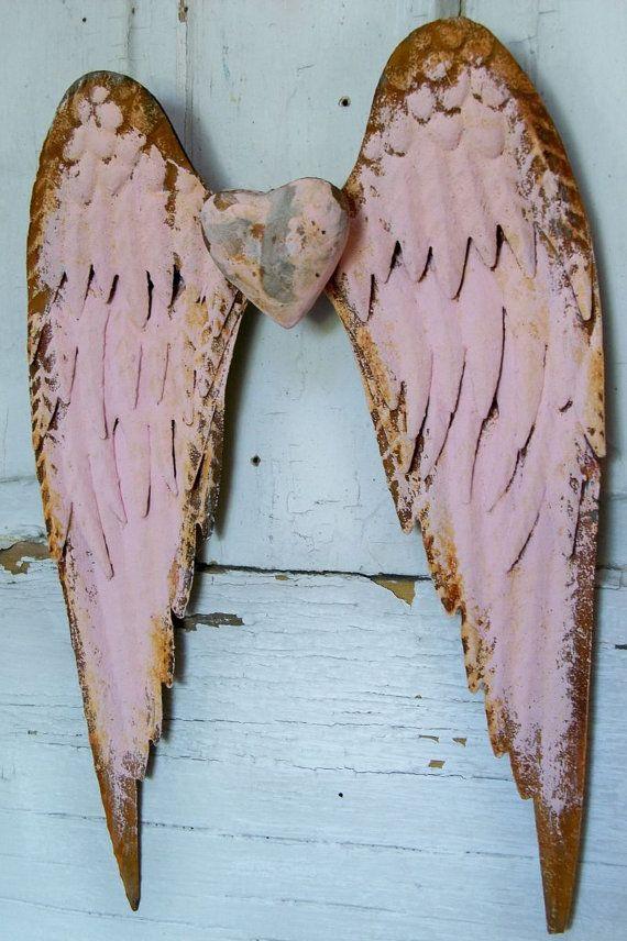 Metal Angel Wings Wall Decor 213 best angel wings decor images on pinterest | angel wings, the