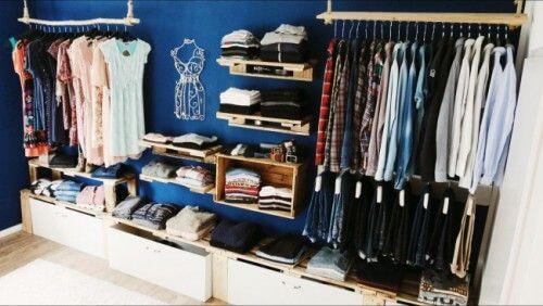 Begehbarer Kleiderschrank - Schranksystem - DIY