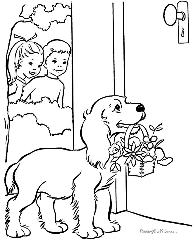 77 best cats and dogs coloring pages images on Pinterest ...