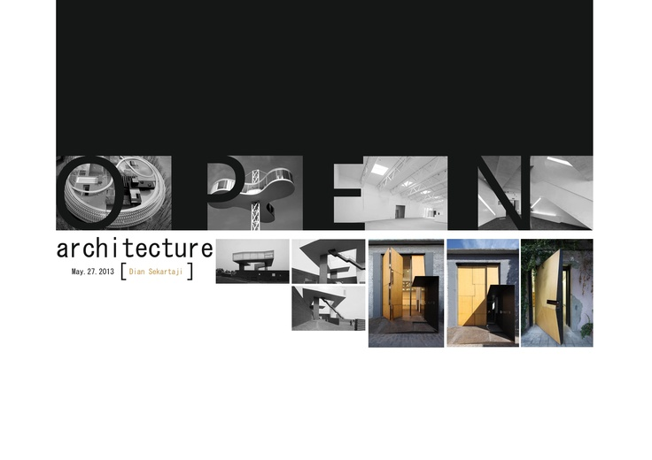 A015_Open Architecture (photos from pinterest)